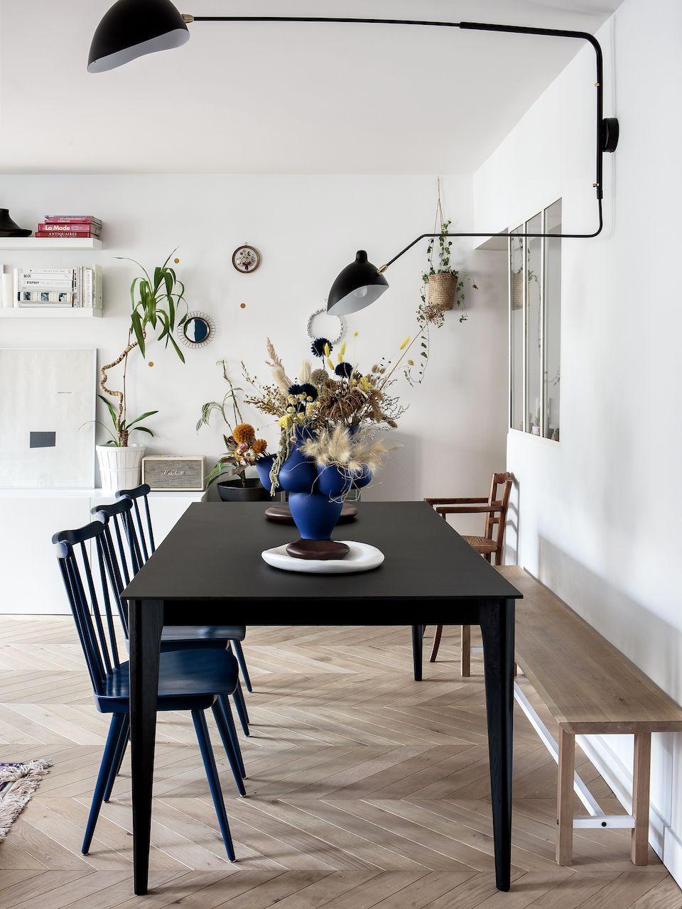 Repere Familial Decoration Salle A Manger Maison Appartement Parisien