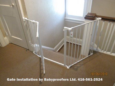 Baby Gates Photo Gallery Baby Proofing Specialists Toronto Baby Gates Baby Proofing Home Diy