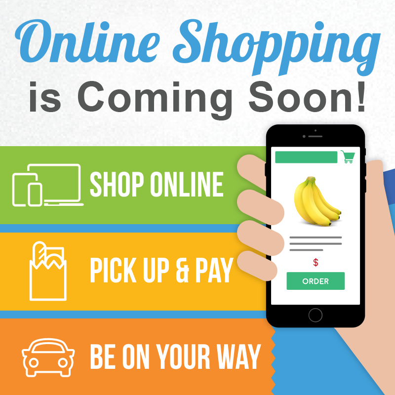 online soon by shopping category