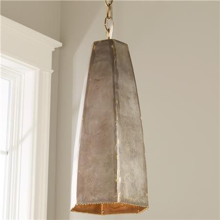 Rustic steel hexagonal pendant steel pendants and antique brass rustic steel hexagonal pendant aloadofball Images