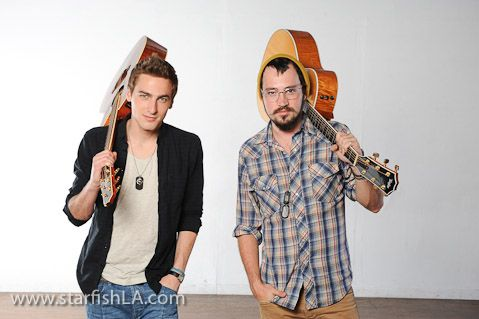 Heffron Drive, Kendall Schmidt and Dustin Belt