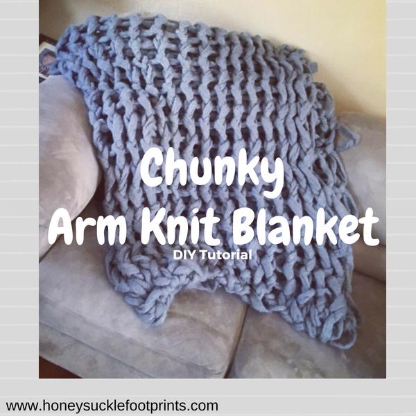 Chunky Arm Knit Blanket Diy Arm Knitting Blanket Diy Arm
