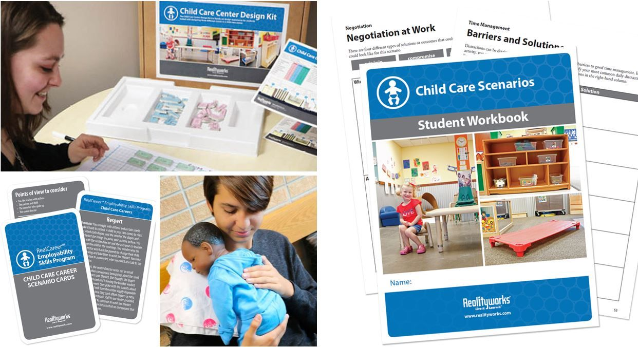 Between RealCareBaby & our Child Care Center Design Kit