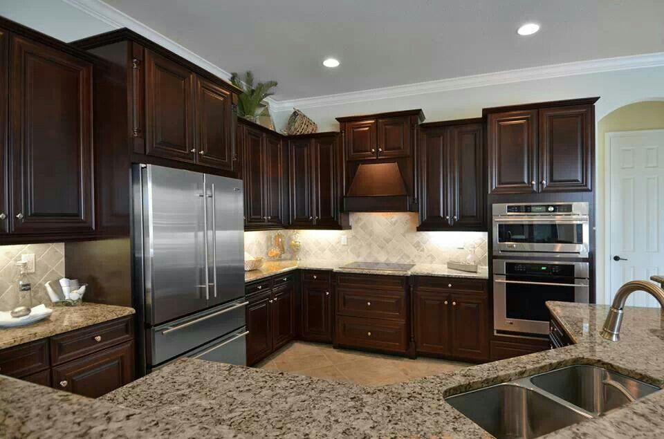 lennar southwest florida - toscana model home kitchen