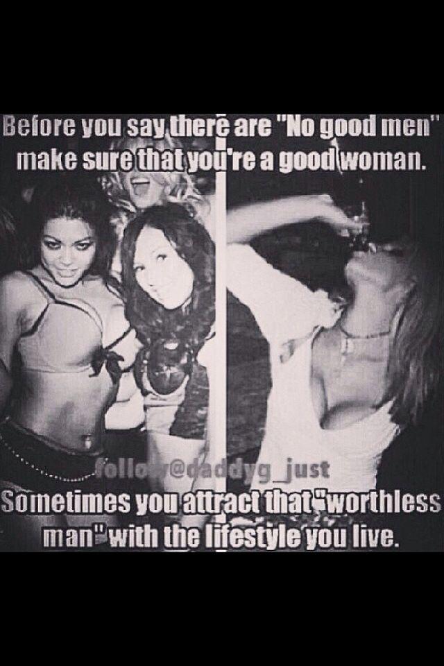 Women can t find good men