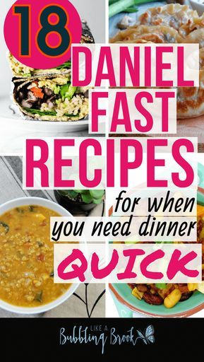 18 Easy Daniel Fast Recipes For When You Need Dinner, Quick images