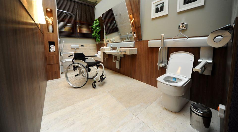 banheiro terceira idade  casa cor  Pesquisa Google  ACESSIBILIDADE  Pinte -> Pia Para Banheiro Pne