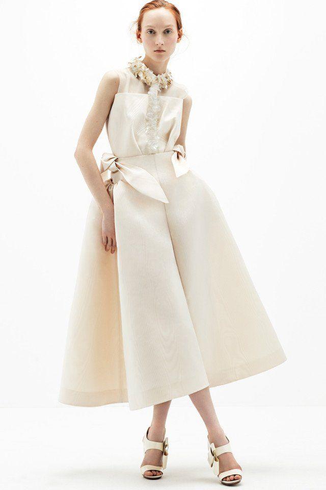 This Is What Fashion-Forward Brides Wear on Their Wedding Day