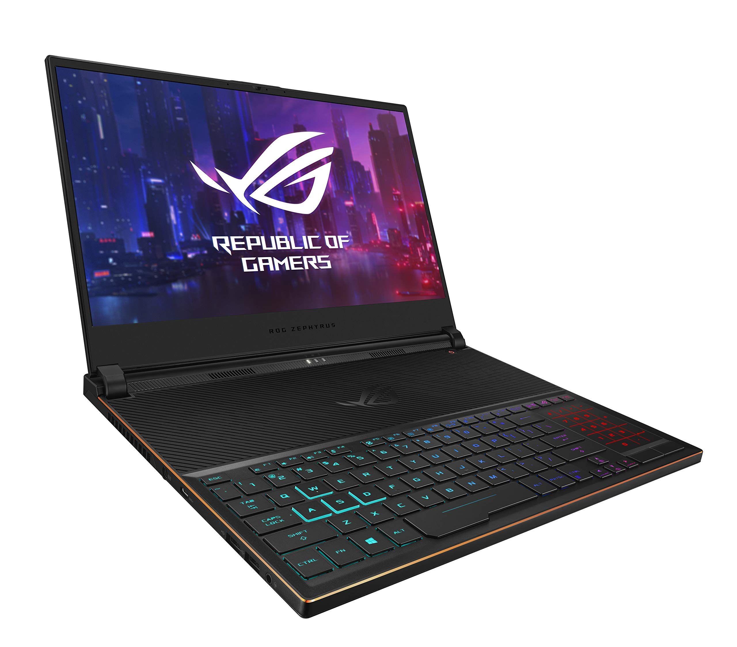 Asus Rog Zephyrus S Ultra Slim Gaming Laptop 15 6 144hz Ips Type Fhd Geforce Rtx 2070 Intel Core I7 8750h 16gb Ddr4 512g Gaming Laptops Asus Laptop Price