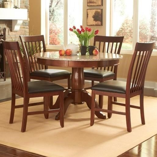 Superior Shop For The AAmerica Granite 5 Piece Round Table And Chair Set At Stuckey  Furniture   Your Mt. Pleasant, Bluffton, And Stuckey, South Carolina  Furniture ...