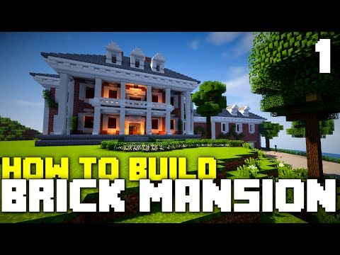 Minecraft Xbox One: How To Build   Brick Mansion! (Part 1)   YouTube