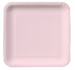 Classic Pink Square 9\  Square Paper Dinner Plates - 180 Plates  sc 1 st  Pinterest & Classic Pink Square 9\