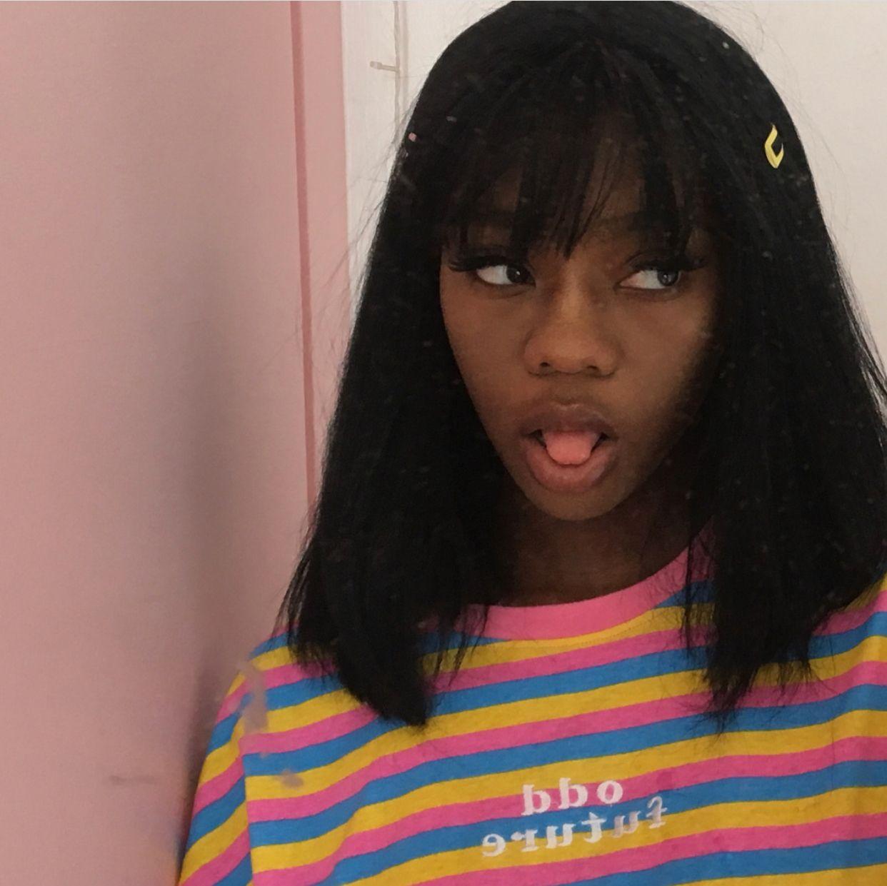 Pin By Mari On Goals Kawaii Black Girl Black Girl