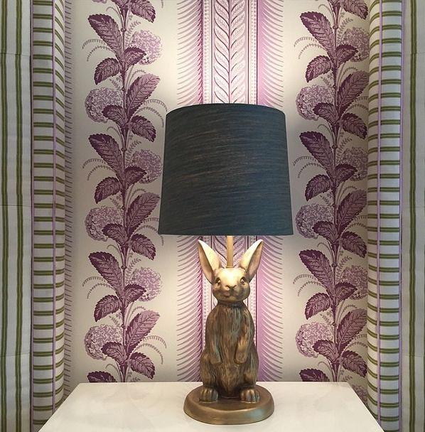 Quadrille Clinbing Hydrangea Wallpaper