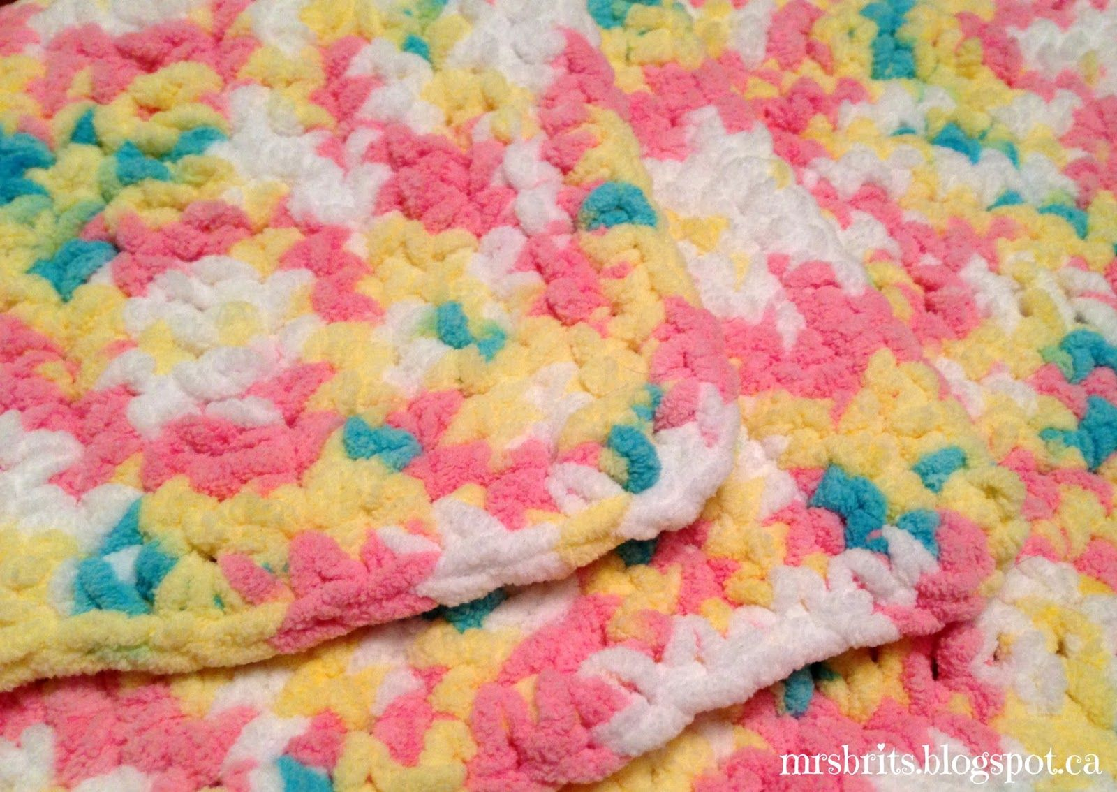 I had the pleasure of making this for my friend corrinas newest find this pin and more on crochet by maryvpg mrsbrits sweet and chunky baby afghan crochet pattern bankloansurffo Gallery