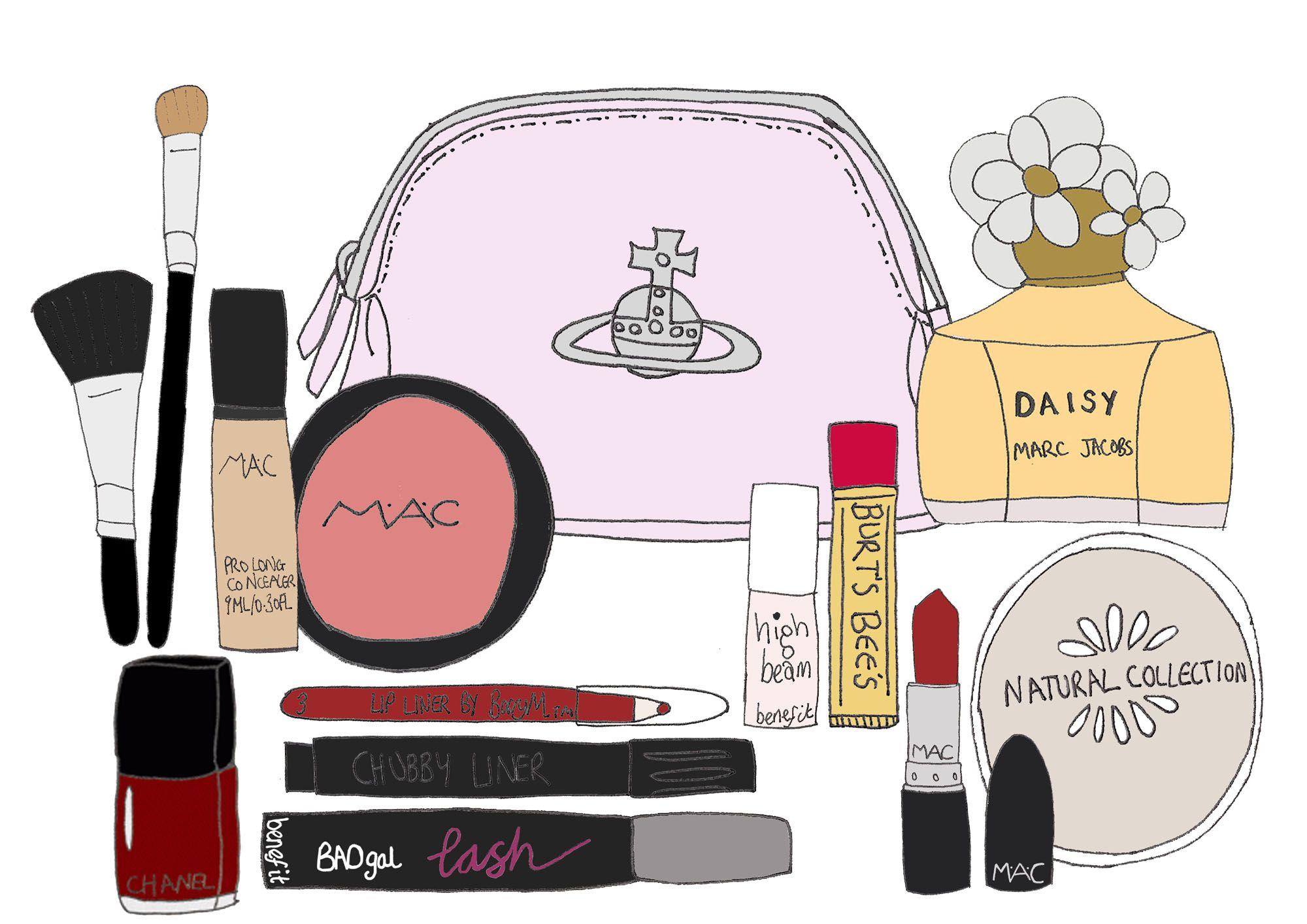 Logo Inspiration Makeup Bag