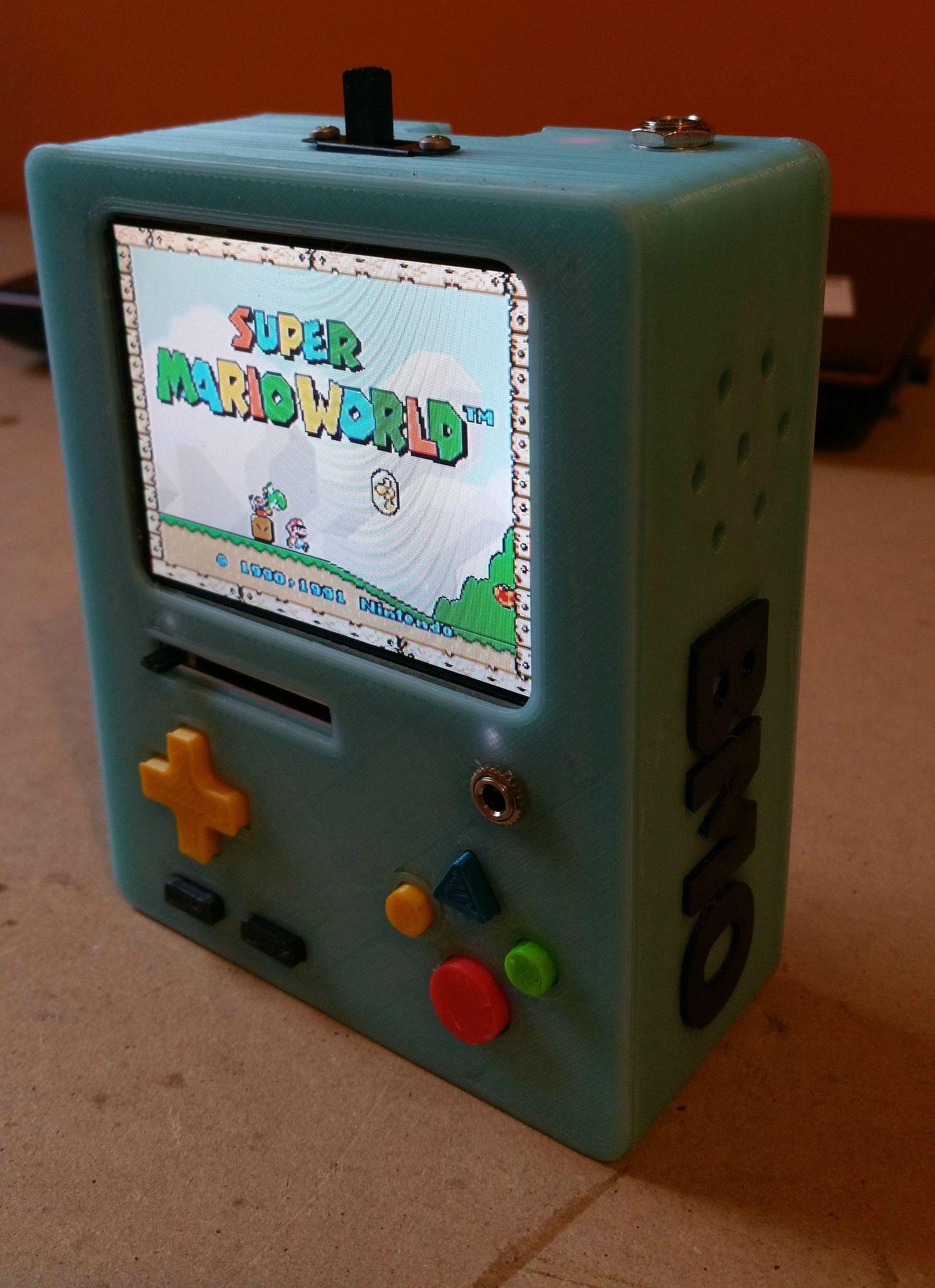 Adventure Time RaspBMO (Handheld Raspberry Pi Emulator