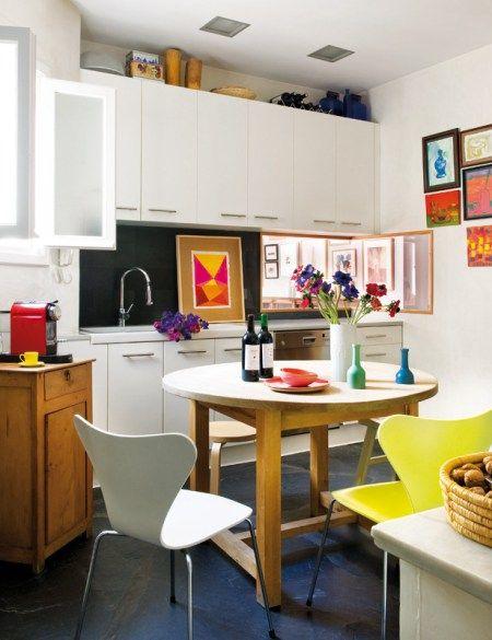 Fabuloso ático en Madrid Kitchens