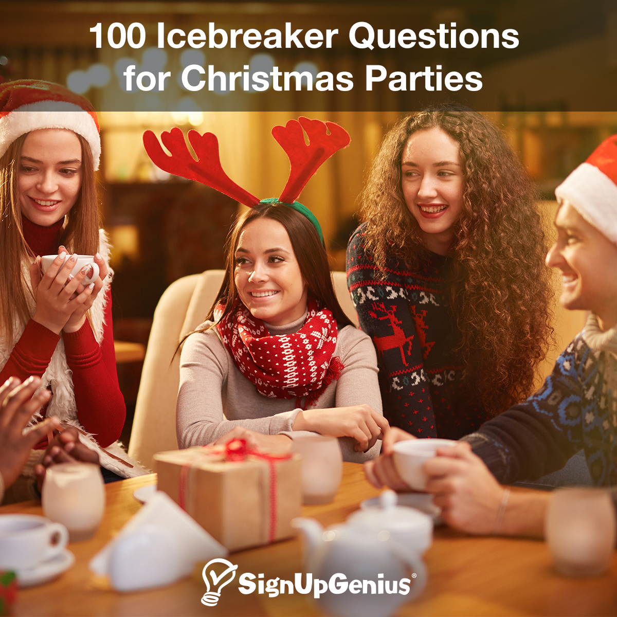 Christmas Party Icebreaker Questions.100 Icebreaker Questions For Christmas Parties Christmas