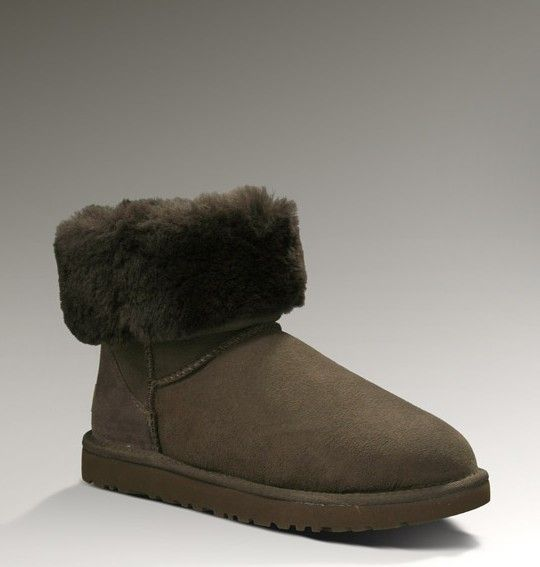 Ugg Classic Short 5825 Boots Chocolate