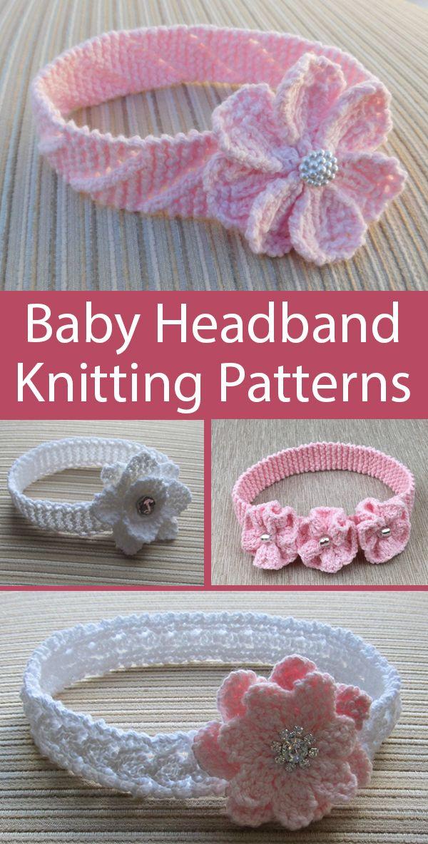 Baby Headband Knitting Patterns