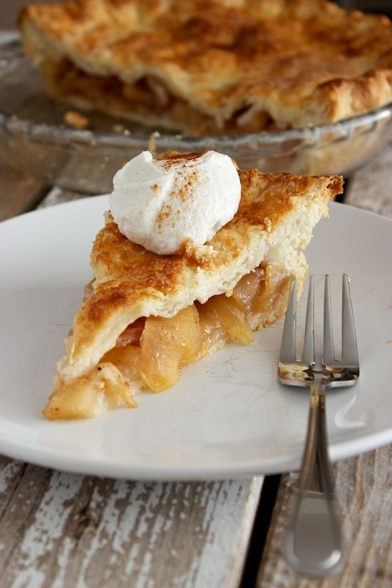 Apple pie in all it's simple, delicious glory. (Includes a gluten-free option)