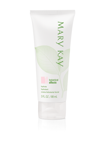 Mary Kay® Botanical Effects® Hydrate Formula 1 (Dry Skin) – Moisture-rich formula absorbs quickly and leaves your skin feeling balanced.  Formulated with personalized botanicals for your skin type and contains an antioxidant-rich botanical complex. Contact me to try the Botanical Effects line for FREE. It's perfect for those seeking natural skincare!