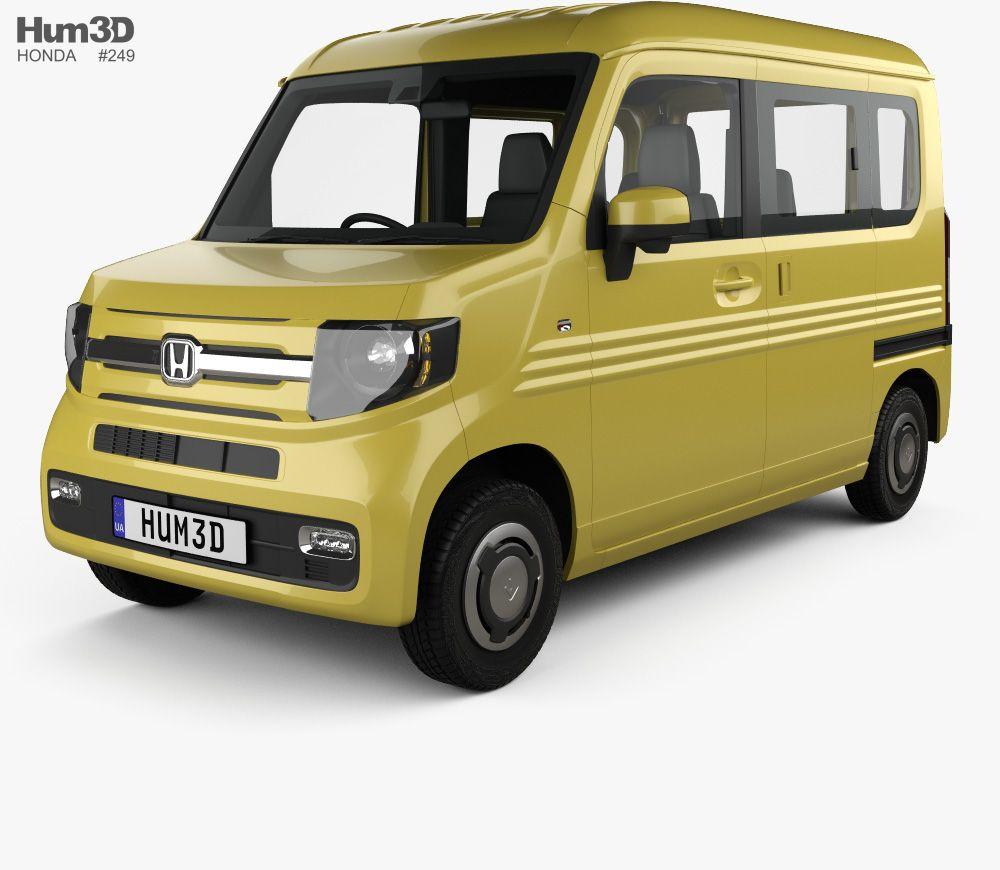 3d Model Of Honda N Van Style Fun With Hq Interior 2018 Van Vans Style Honda
