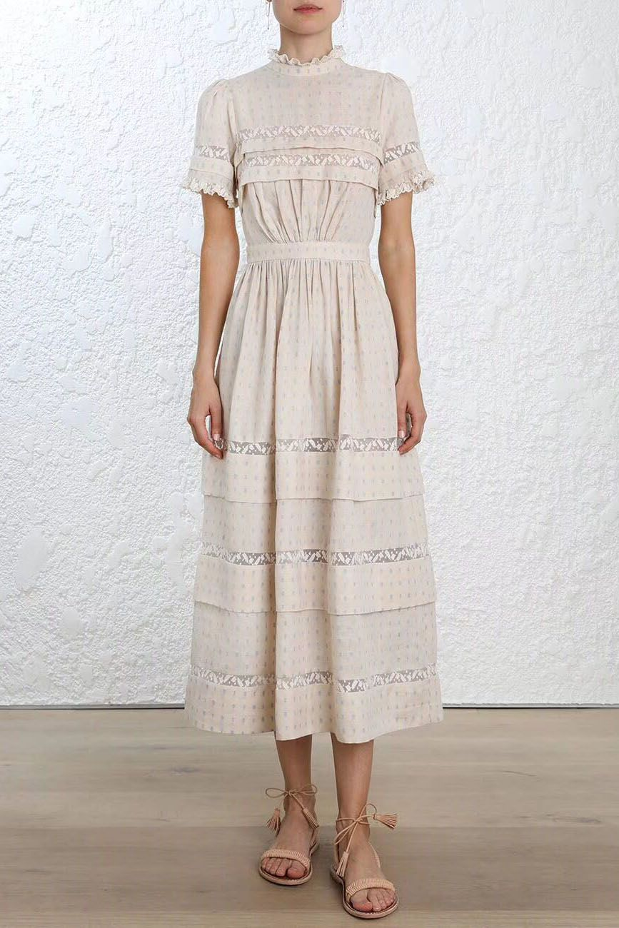 55b561a33cfe Zimmermann Helm Dot Long Dress