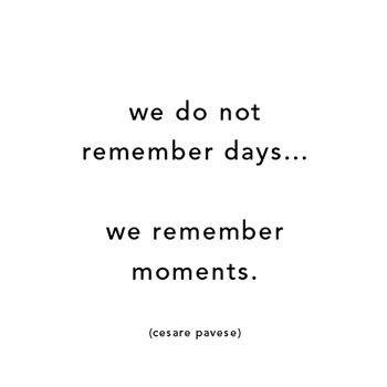 moments moments.