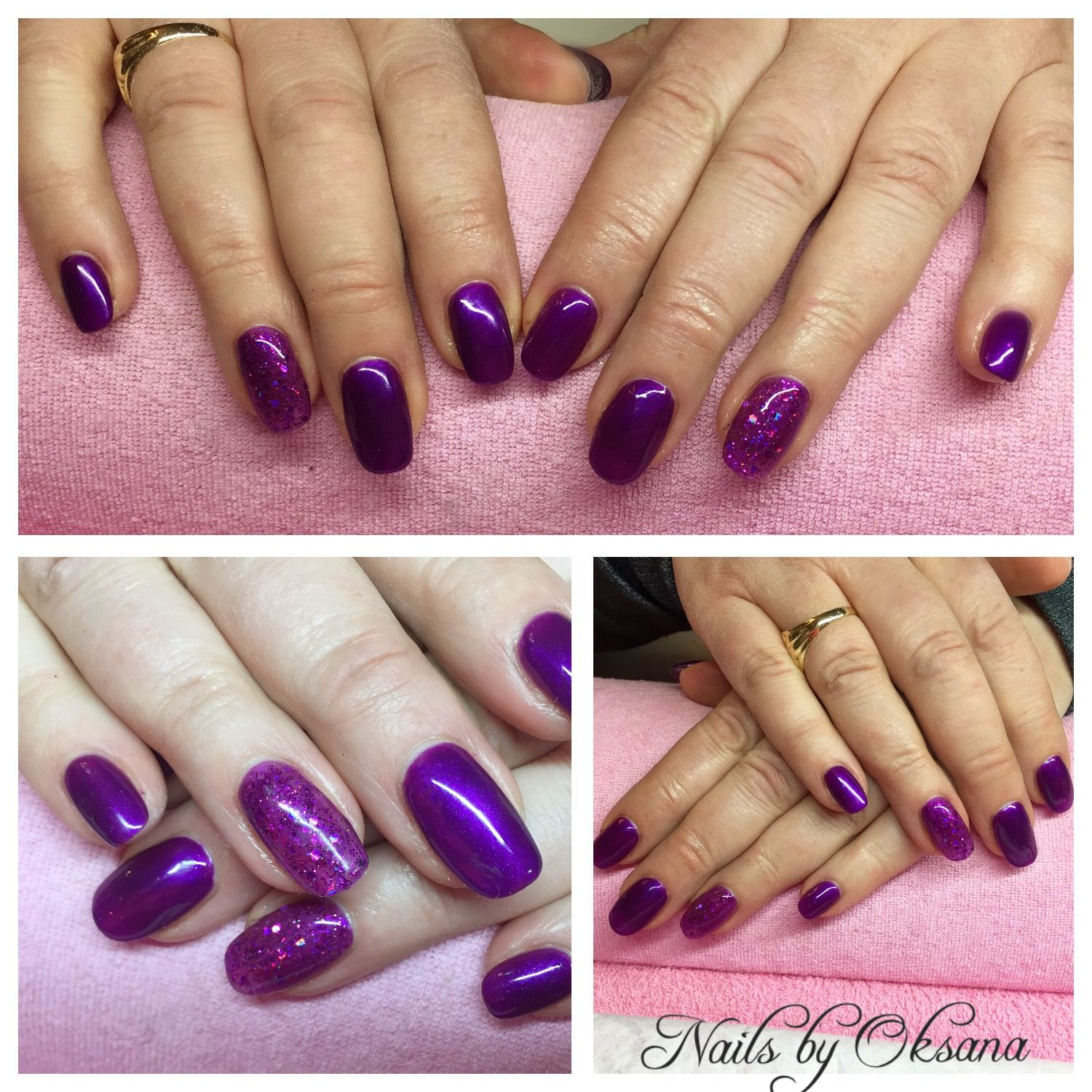 Gel Nails Extensions On Forms Very Short