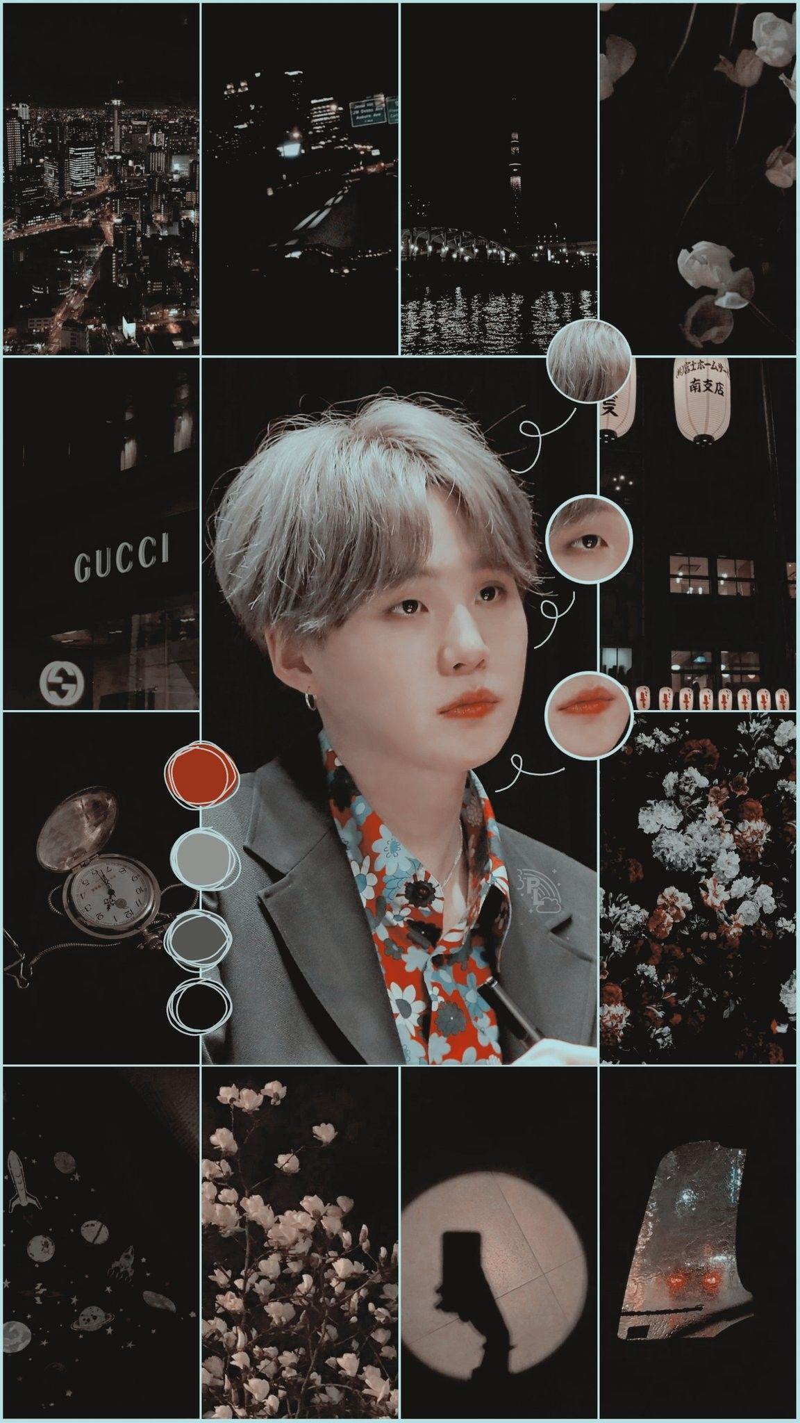 Yoongi Aesthetic Wallpaper Credits To Twitter Padicklocksz C Yoongi Suga Bts Wallpaper Bts Polaroid Suga