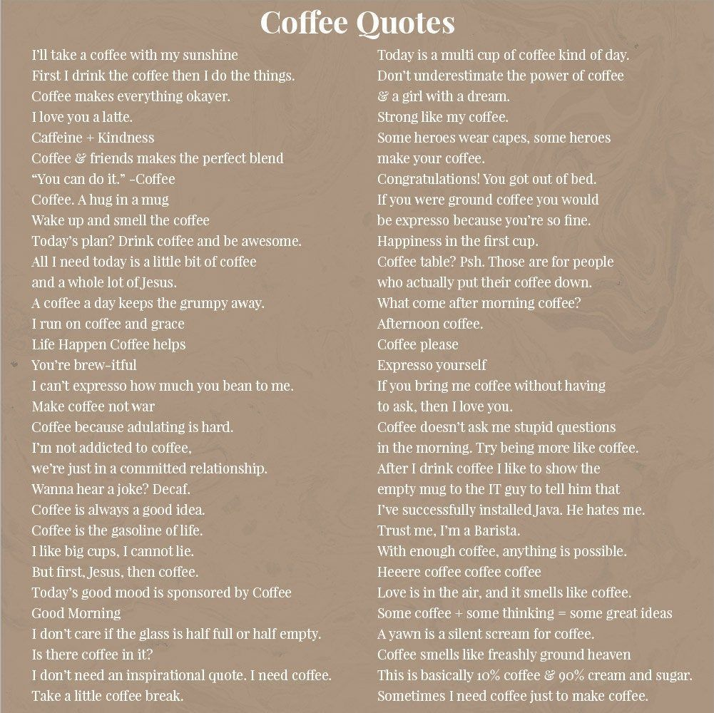 Coffee Quotes For Instagram Coffee Quotes For Social Media Coffee Shop Branding Coffee Lover C Coffee Captions Instagram Coffee Quotes Coffee Shop Branding