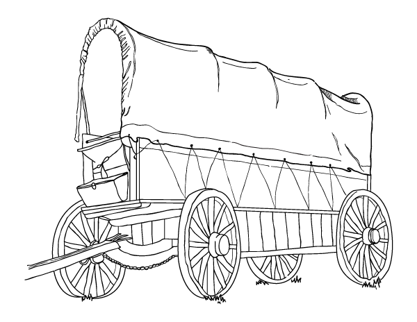 Printable Covered Wagon Coloring Page Download It At Https Museprintables Com Download Coloring Page Covered Wagon Coloring Pages Covered Wagon Color