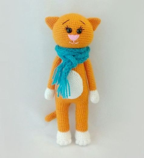 Free Crochet Cat Patterns Gatto Pinterest Crochet Cat Pattern