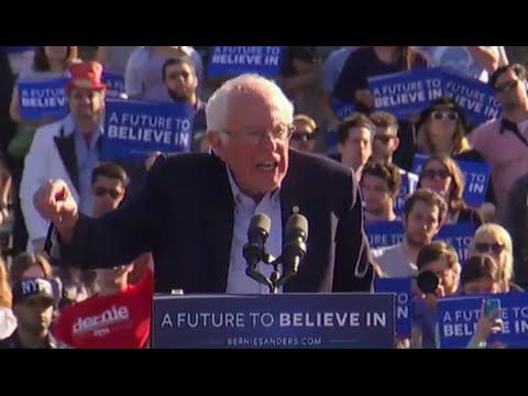 Bernie Sanders Battles for Upset in New York