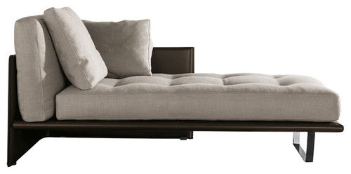 Minotti luggage chaise lounge modern day beds and for Divan consultorio