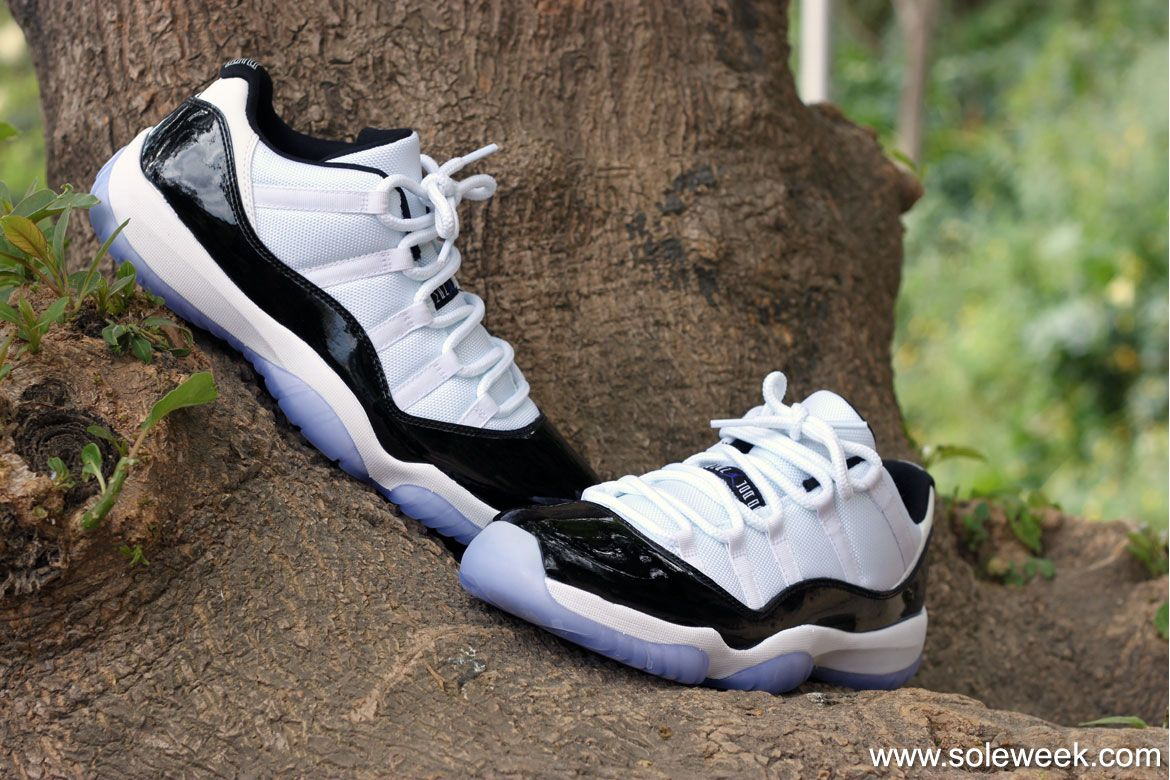 0f3efcc8ddf7fc Air Jordan 11 Low Concord - On-feet pictures Detailed look  airjordan   sneakers  airjordan11  concord  aj11  ajXI