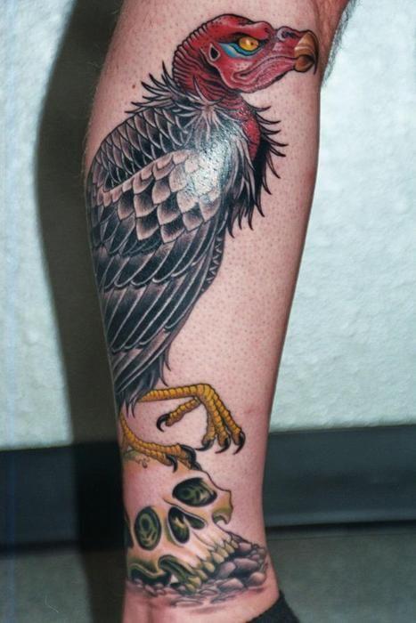 Vulture Tattoos Armor Tattoo Guru Tattoo