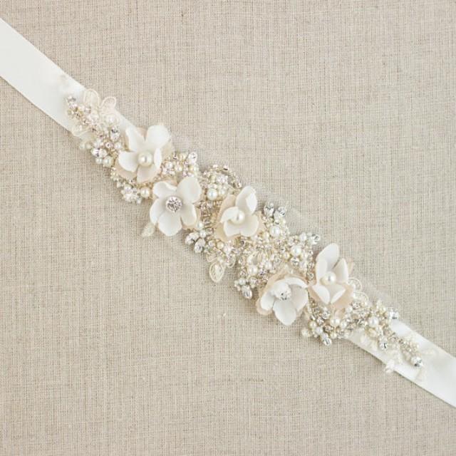 Diy Wedding Dress Belt Related To Fashiondesignlist