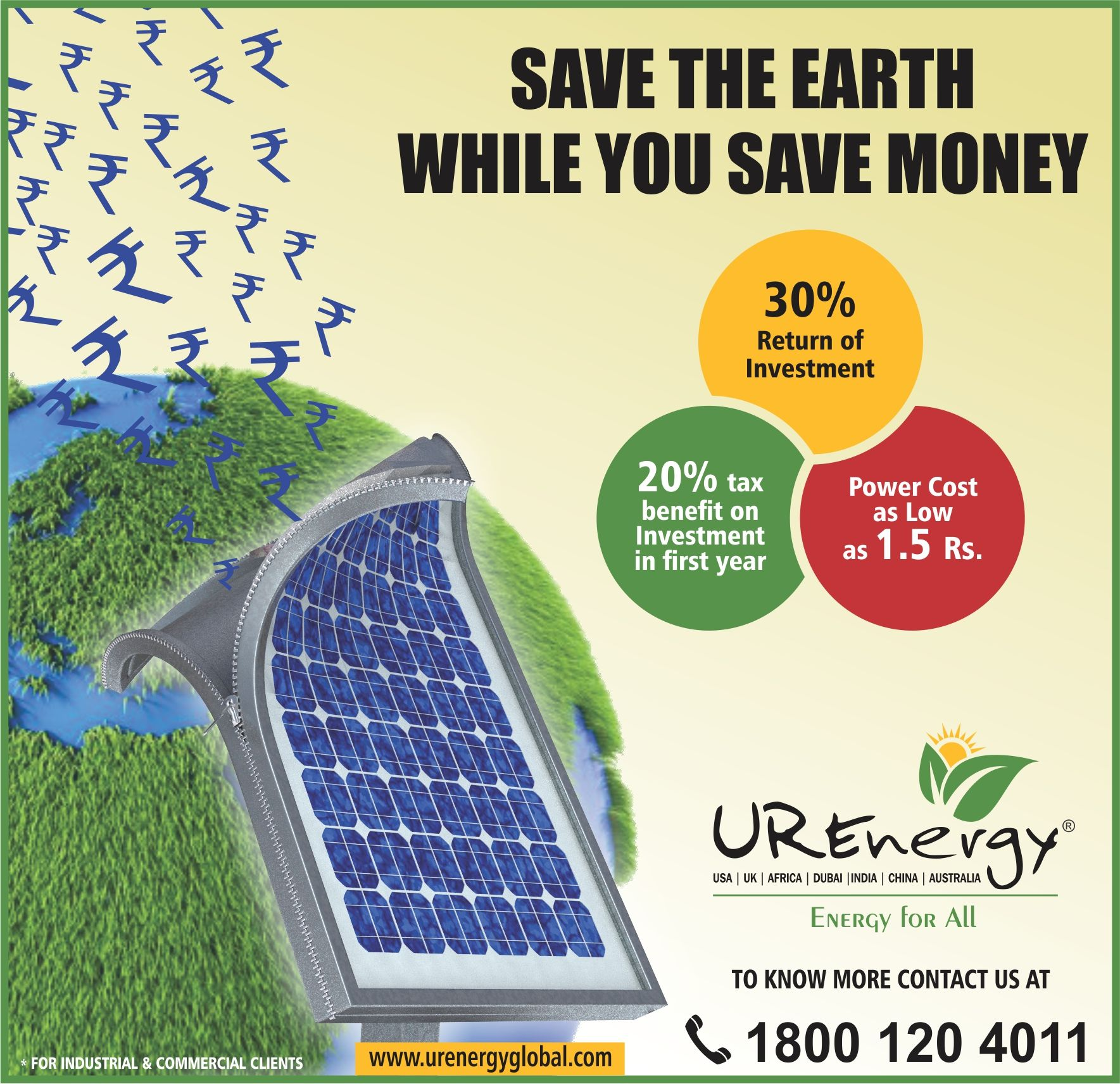 Rooftop Solar Panel Inverters Water Pump Solar Epc Gujarat India U R Energy In 2020 Solar Solar Water Pump Solar Energy Diy
