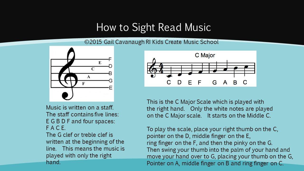 how to sight read music ri kids create music school music school music piano. Black Bedroom Furniture Sets. Home Design Ideas