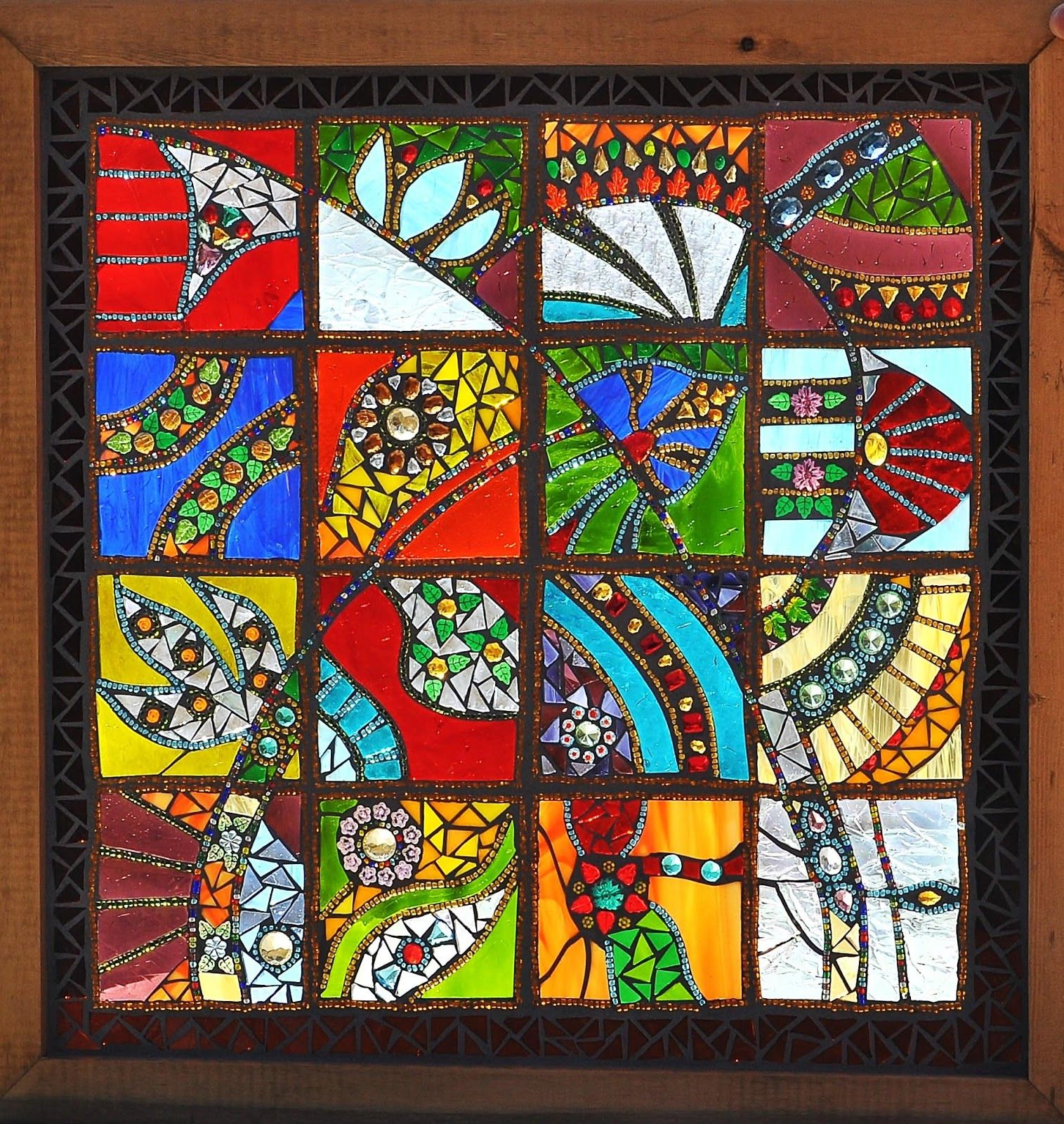 Kathleen Dalrymple - Glass Artist Mosaic Stained