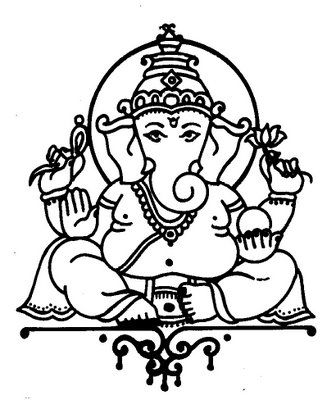 Ganesha drawing   fun stuff   Ganesha art, Ganesha drawing ...