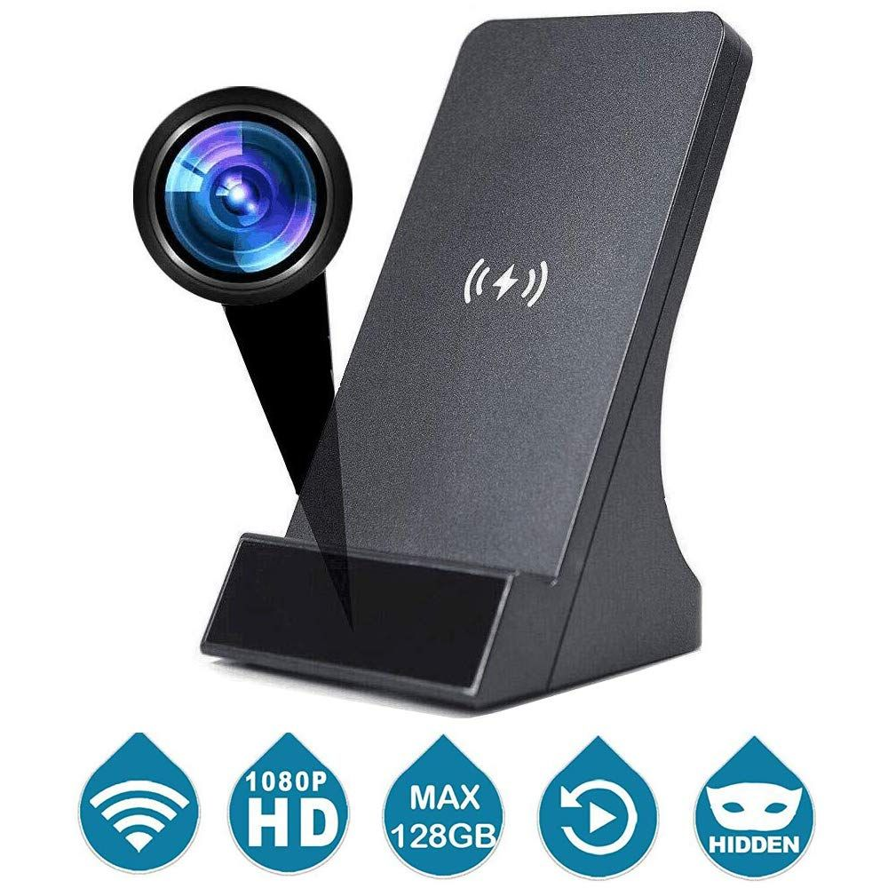 Support Max 128 GB SD Card Hidden Camera USB Charger Spy Cam HD 1080p Nanny Cam with Motion Detection Spy Camera Charger for Home Security