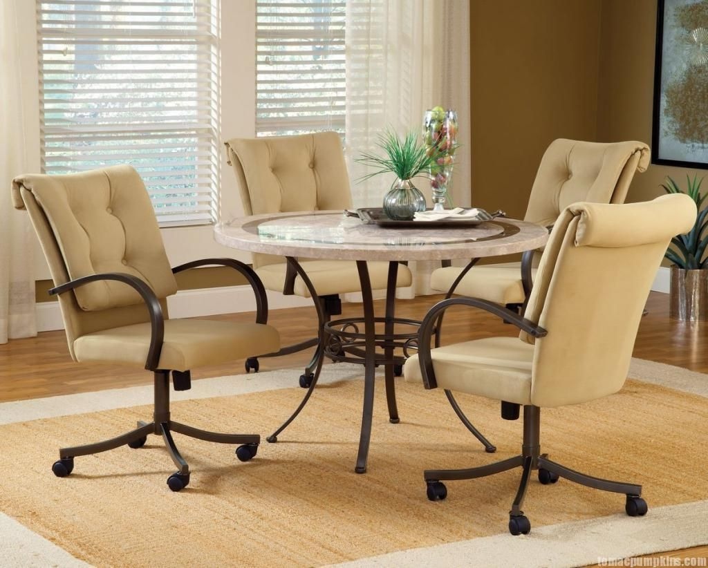 dining room table with swivel chairs google search design neat rh pinterest com Kitchen Dining with Swivel Chairs Country Dining Room Sets