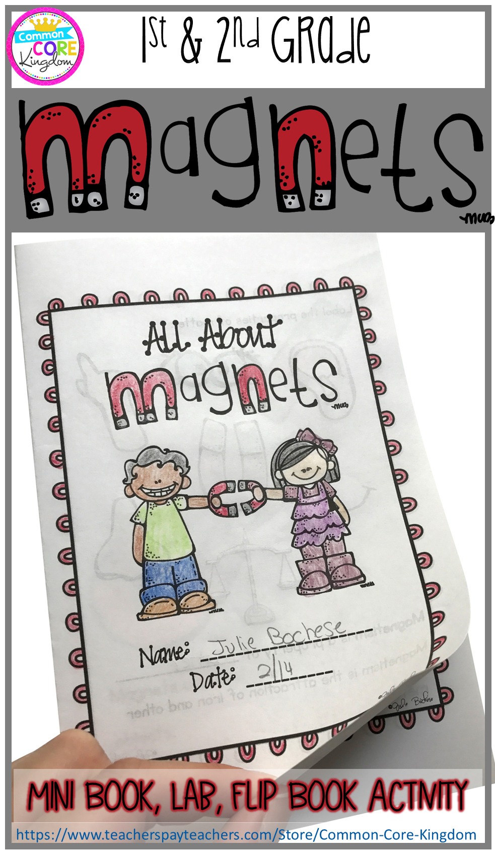 medium resolution of Are you looking for a fun and engaging way to teach your 1st or 2nd graders  about magnets? This science mini…   Magnet activities