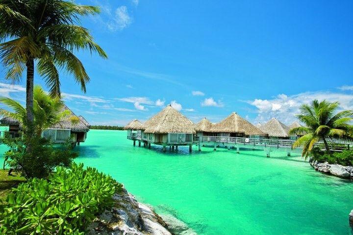 Tahiti...huts Over Water...yes!