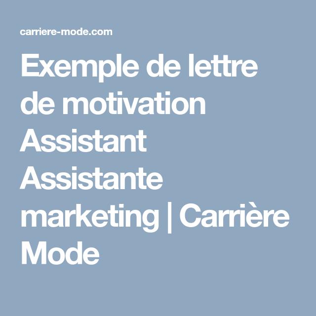 59 Lettre De Motivation Projet Professionnel Exemple: Exemple De Lettre De Motivation Assistant Assistante