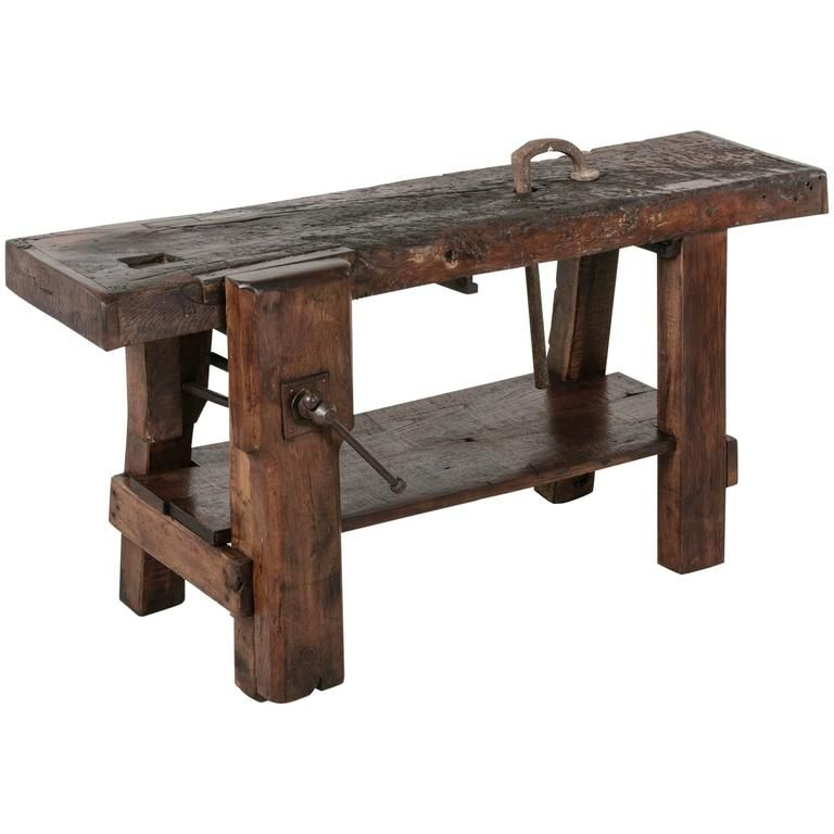 french country style carpenters workbench french country style